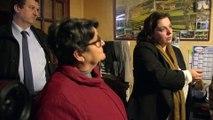 Emmanuelle Cosse dans l'Oise :  la rénovation énergétique, un impératif écologique et social
