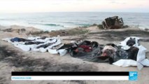 Migrant crisis: Bodies of 74 migrants found on Libyan beach