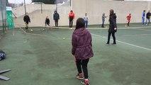 Journée d'initiation au tennis pour les jeunes de différents quartiers vannetais