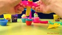 Play Doh de la Magdalena de la Torre de Sweet Shoppe ♥ La Tour à Cupcakes ♥