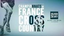 Championnats de France de Cross-country 2017 - Live