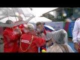 Men's shot put F42   Victory Ceremony   2014 IPC Athletics European Championships Swansea