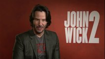 JOHN WICK 2 ׃ Keanu Reeves nous parle du film, de Matrix et... de John Wick 3 !