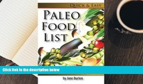 BEST PDF  Paleo Food List: Paleo Food Shopping List for the Supermarket; Diet Grocery list of