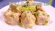 PECHUGAS DE POLLO EN SALSA DE QUESO - recetas de cocina faciles rapidas y economicas de hacer