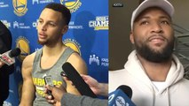 Steph Curry Reacts to DeMarcus Cousins Trade, Boogie Says Final Goodbye to Sacramento