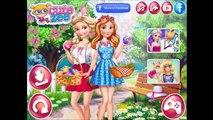 Frozen Игры—Дисней Принцессы Эльза и Анна на свадьбу—Онлайн Видео Игры Для Детей Мультик 2