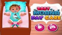 ►Bebé Moana Cuidado de Día -Disney Princesa Moana Juegos para Niños | Juegos de Cuidados del Bebé | de los Niños del Bebé G