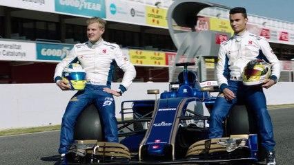 Sauber als erstes F1 Team der Saison auf der Rennstrecke