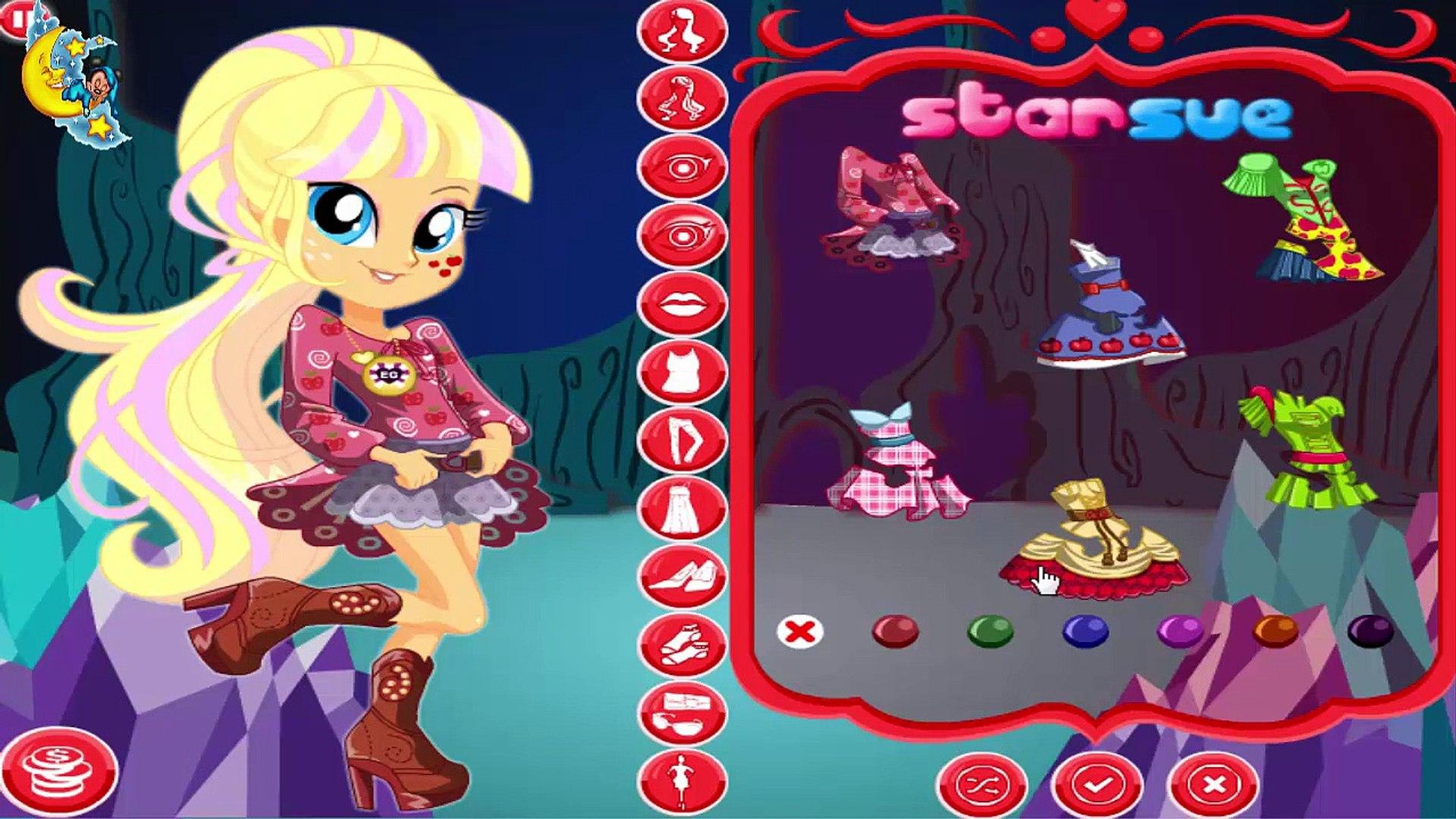 My Little Pony Fluttershy Vestir Leyenda De Everfree Equestria Girls Bebé Juegos De Chica