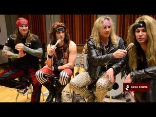 Steel Panther discuss 'All You Can Eat'