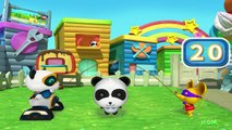 Explore Kikis backyard - Baby Panda Outdoor Play | Babybus Kids Games