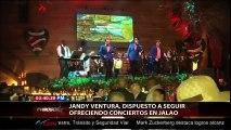 JANDY VENTURA, DISPUESTO A SEGUIR OFRECIENDO CONCIERTO EN JALAO.
