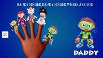 El dedo de la familia de personajes de dibujos animados de la Familia rima de cuarto de niños de dibujos animados de animación para childr