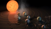 Astronomers discover Seven Earth-sized planets orbiting nearby star