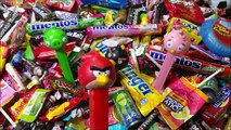 Angry Birds Candy Disney Planes Filled Candy Hello Kitty Candy Dispenser A lot of Candy