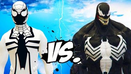 Anti-Venom Spiderman vs Venom - Epic Battle