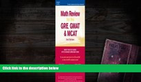 Best Ebook  Math Review: GRE, GMAT, MCAT 2nd ed (Peterson s GRE/GMAT Math Review)  For Kindle