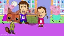 Mezcla de Peppa Pig Dedo de la Familia ZOOTOPIA Canción a los Niños canciones infantiles canciones Para Niños Nuevo