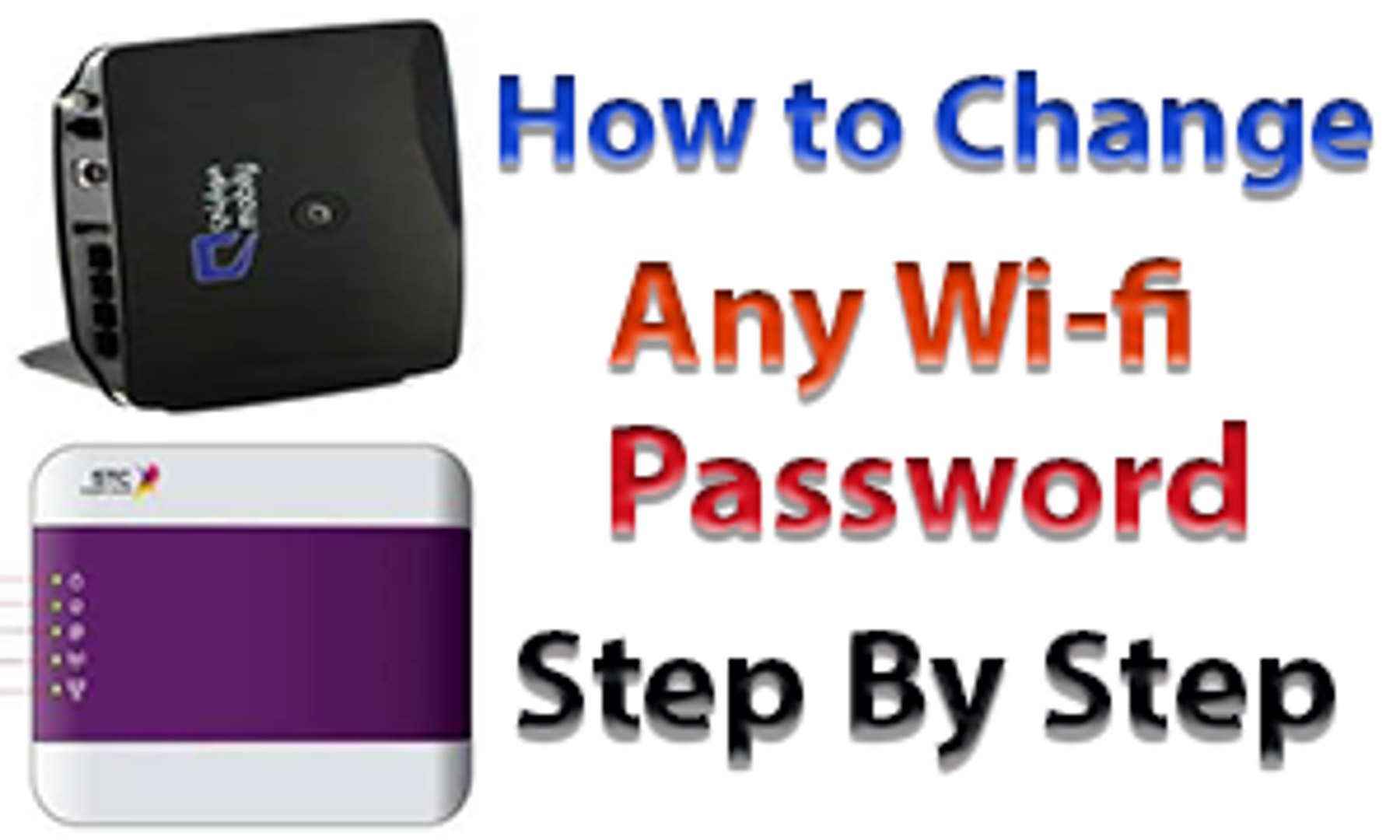 How to Change Wi-Fi Password Stc | Zain | Mobily | router