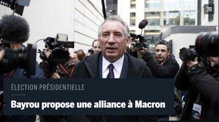 François Bayrou propose une