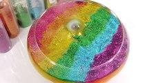 1000 Degree Ball VS Combine Glitter Slime Clay Learn Colors Slime Icecream DIY-xu0ci7AopHU