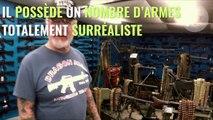 Ce collectionneur d'armes pourrait bien fournir à une armée des matériels militaires