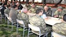 Kilis Genelkurmay Başkanı Orgeneral Akar Gaziantep ve Kilis Bölgesini Ziyaret Etti