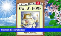 READ book Owl at Home (I Can Read Level 2) Arnold Lobel Pre Order