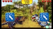 T-rex Cops Dino Robot - Tyranno Robot Battle ! Game for Kids