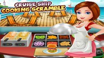 Cruise Ship Cooking Scramble: Super-Star Master Burger Chef & Restaurant Fever Gameplay FR