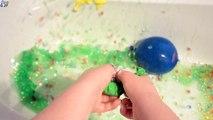 5 Mojado Colores de los Globos de Aprender los Colores con Globos de Agua Dedo de la Familia Rimas de la Canción Baby B