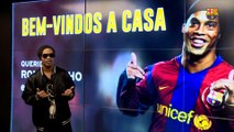 Ronaldinho: Chinese football will learn a lot from Barça