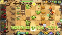 Plants vs Zombies 2 : Its About Time! - Wild West - Day 19 (IOS) Gameplay Walkthrough