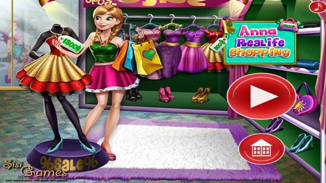 Disney Frozen Games - Elsa Realife Shopping – Best Disney Princess Games For Girls And Kid