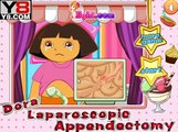 Dora goes to the doctor and have appendicitis - Full Episodes in English new