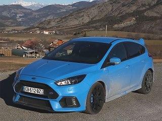 Ford Focus RS 2017 : 1er essai en vidéo