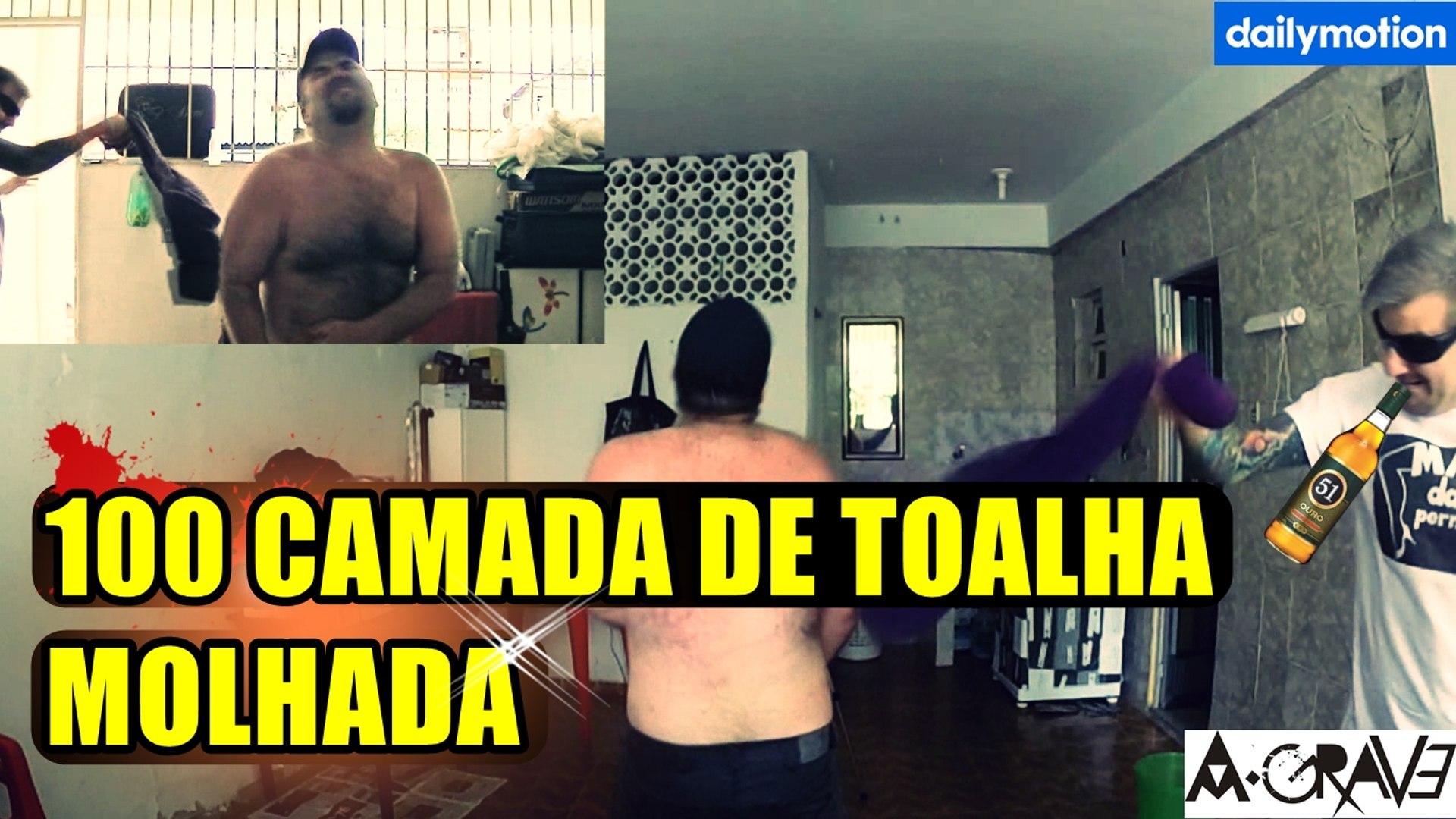 100 CAMADAS DE TOALHA MOLHADA