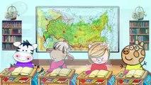 FREDDY VUELVE COLECCIÓN de EPISODIOS Jugamos Juntos Paperas Пеппа en ruso