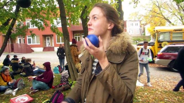 L'Option ARTS DU CIRQUE du Lycée Pierre Bayen au CANADA (octobre 2016)