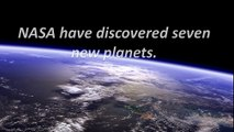7 Earth-sized planets orbiting nearby star discoverd