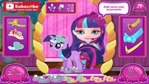 My Little Pony Baby Care - Bathing and Dress Up Little Twilight Sparkle, Pinkie Pie and Applejack
