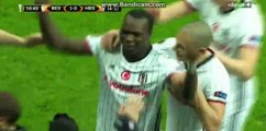 Vincent Aboubakar amazing Goal HD Besiktas 1-0 Hapoel Beer Sheva  - 23.02.2017