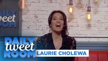 "Laurie Cholewa : "" Retrouver une émission en radio , j'adorerais ! "" - #DailyTweetRoom"
