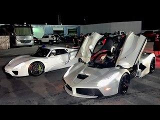 LaFerrari vs 918 Spyder - $3,000,000 Worth of Hypercars!