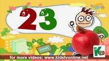 Counting Song 123: Nursery Rhymes with Funny Fruits