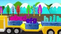 abc canciones para los niños | animación 3d camión canciones para los niños | los niños canciones infantiles
