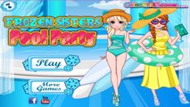 ♛ Princess Pool Party - Disney Princess Frozen Sisters Elsa And Anna & Princess Rapunzel G
