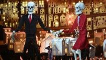 Brit Awards 2017: Katy Perry brings dancing Donald Trump and Theresa May Skeletons