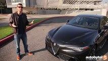 2017 Alfa Romeo Giulia Quadrifoglio Test Drive Video Review - 505 HP Luxury Sedan-mXjVwosxhmk